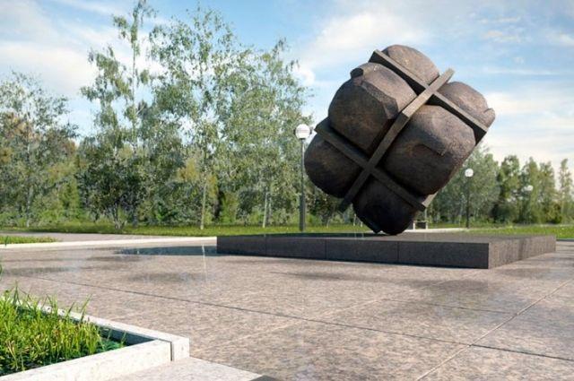 Памятник установят в 2020 году.