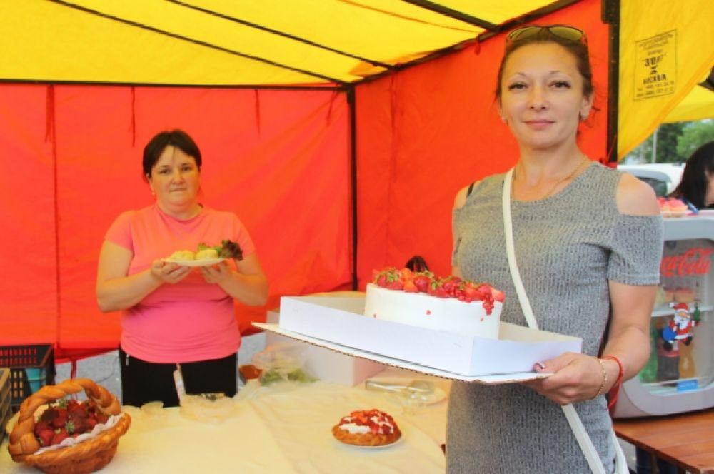 Среди кулинаров на фестивале прошёл конкурс «Дары Байкала»