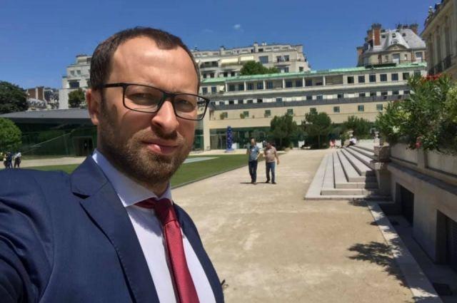 Новый глава ГФС Денис Гутенко в Париже, 2019 год
