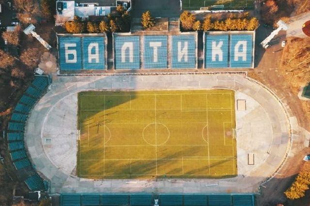 На стадионе «Балтика» появятся две площадки для мини-футбола