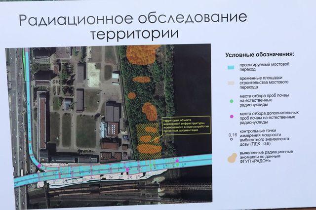 Участок юго-восточной хорды у территории «Московского завода полиметаллов».