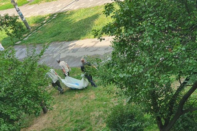 В Запорожье на детской площадке в течение шести часов лежал труп