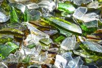 Вид стеклянного изделия – битое оно или целое – не имеет значения.