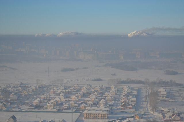 Сибирь накрыло смогом.