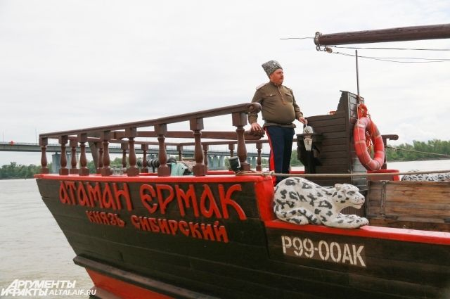 Капитан на своем корабле.