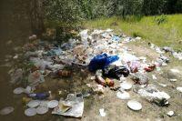 Фото сделано отдыхающими летом этого года в Кондуках.
