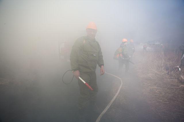 В Красноярском крае и Иркутской области продолжают гореть леса.