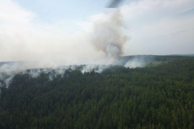 Из-за лесных пожаров в Красноярском крае дымкой накрыло и соседние регионы.