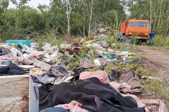 Всего было вывезено более 120 кубометров отходов