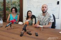 Татьяна Скороходова, Анастасия Зверькова и Юрий Яшников.