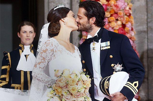 Свадьба принца Карла Филиппа и Софии Хелльквист. Швеция, 2015 г.
