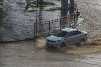 В воскресенье циклон сместится в южные районы области.