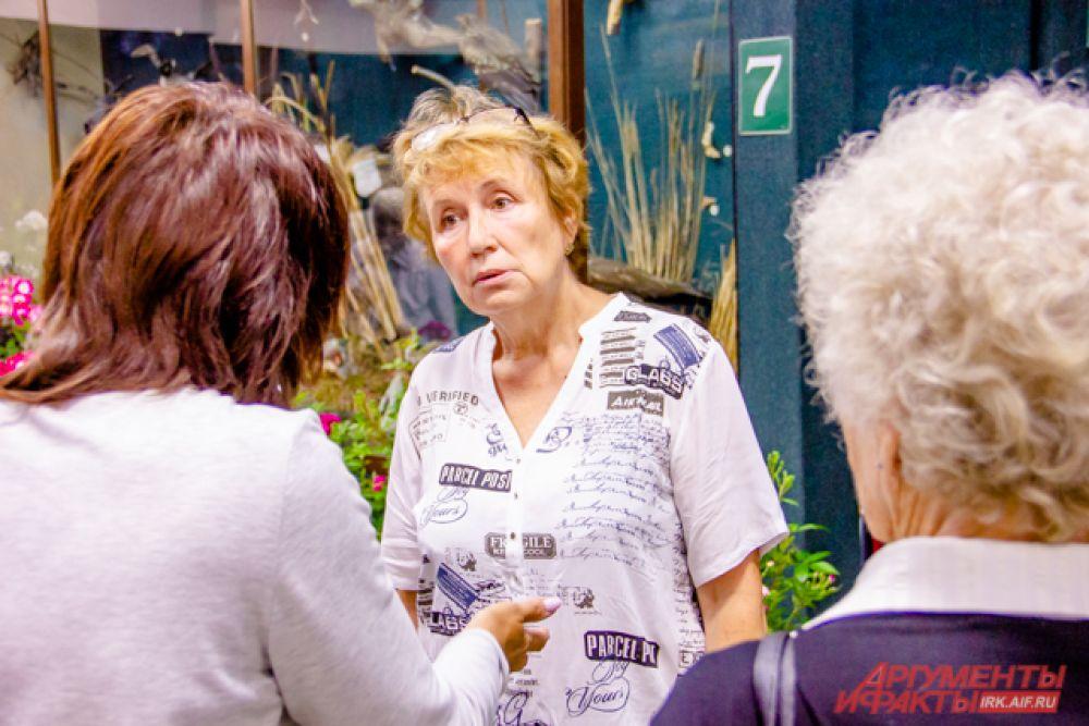 Нина Александровна Буляткина - садовод и организатор выставки