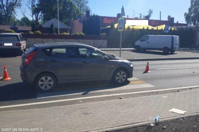 На дороге «Романово – Калининград» сбили пешехода
