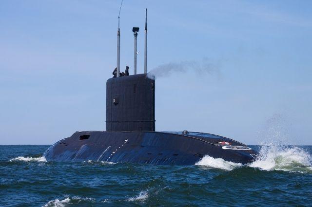 В Балтийске прошла генеральная репетиция военно-морского парада ко Дню ВМФ