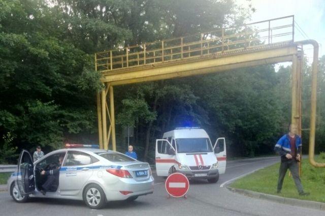 Автоинспекторы нашли водителя, повредившего газопровод в Светлогорске