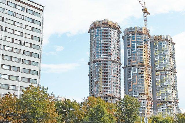 Строительство башен напроспекте 60-летия Октября закончат до конца 2019 года.