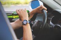 Водитель иномарки сел за руль в пьяном виде.