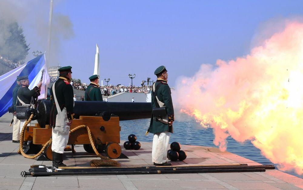 День ВМФ в Севастополе.