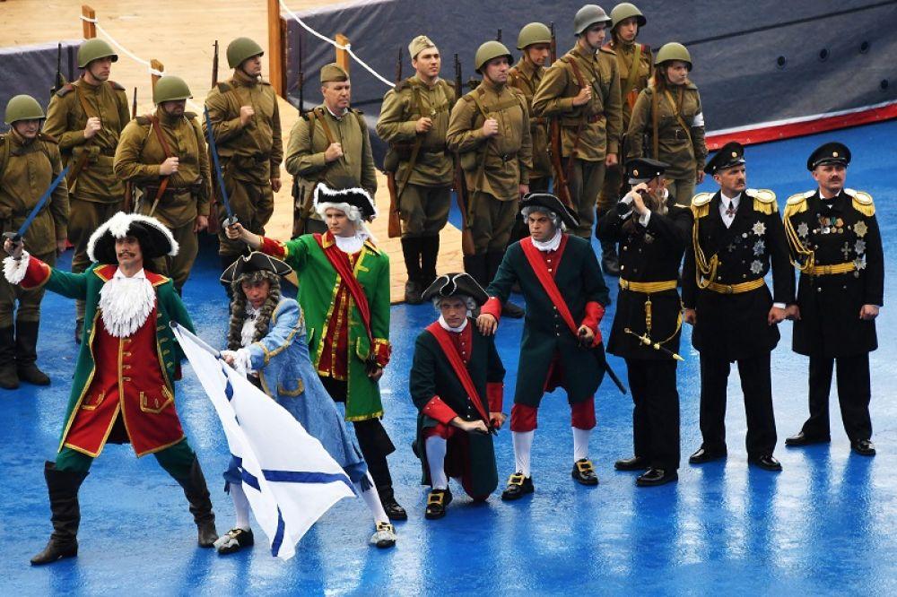 День ВМФ во Владивостоке.