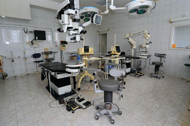 В отделении есть всё, что нужно для глазных болезней.