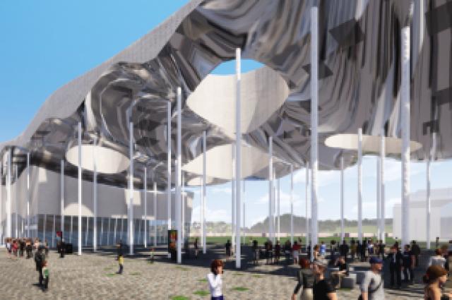 Возле аэропорта Рощино построят Международный выставочный центр