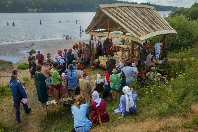Жители Кимрского района могут забрать на дрова постройки «Былинного берега»