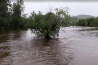 Повышение уровня воды в реке Ия продолжается.
