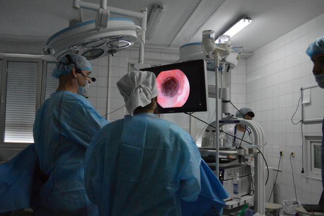 Пациентку доставили в в хирургическую клинику Новокузнецкой городской клинической городской № 1.