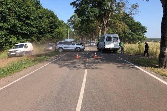 В Зеленоградском районе в ДТП пострадали 5 человек