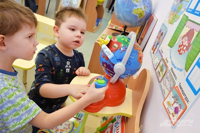 В каждой группе должны быть развивающие игрушки, рассчитанные на конкретный возраст.