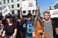 Больше половины задержанных на митинге по выборам в Мосгордуму не имели московской регистрации.