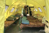В холодную погоду дети могут не ночевать в палатках.