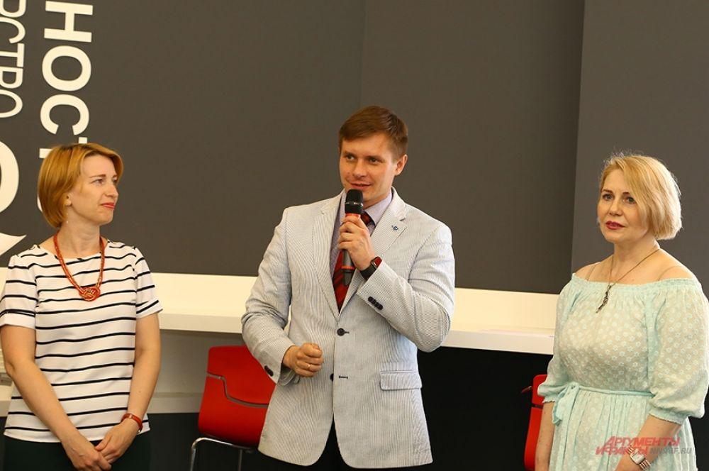 Проректор ННГУ по связям с общественностью Никита Авралёв открыл турнир.