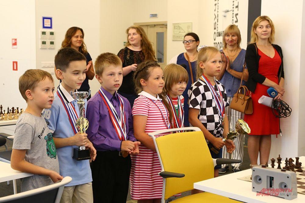 Юные шахматисты уже добились побед на значимых турнирах.
