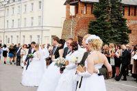 Число браков с 2013 г. упало в 1,4 раза.