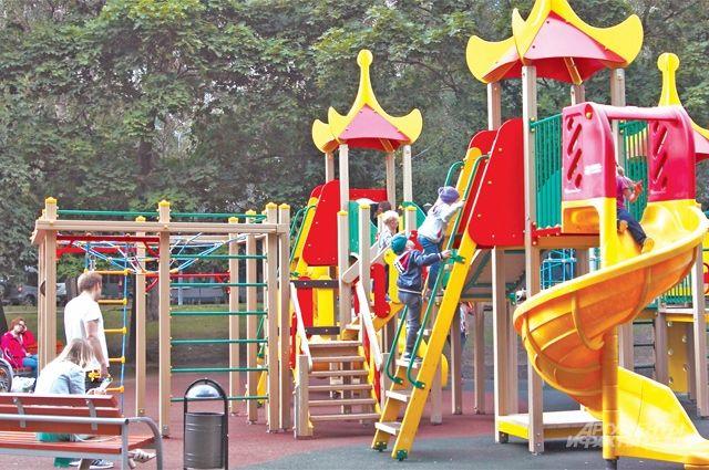 Ребятишки не останутся без детской площадки.