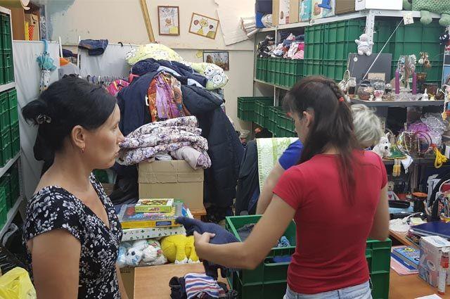 В Пермском крае более сотни семей с детьми ежемесячно получают помощь в благотоврительной организации «Территория семьи».