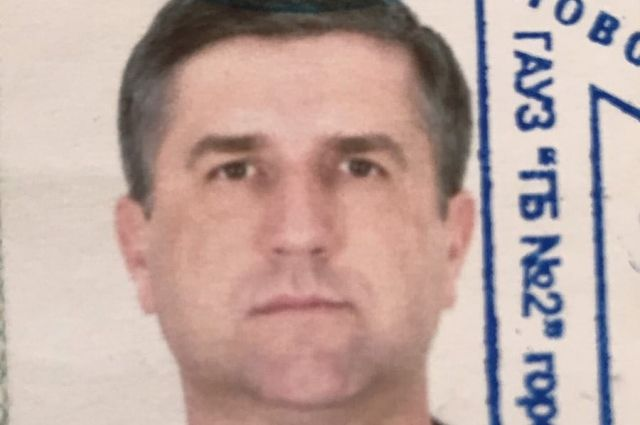 В Орске  разыскивают пропавшего Юрия Столярова