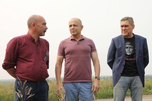 Сергей Сокол в рабочей поездке в Черемхово.