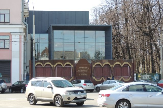 Здание «Волков-плаза» на днях введено в эксплуатацию.