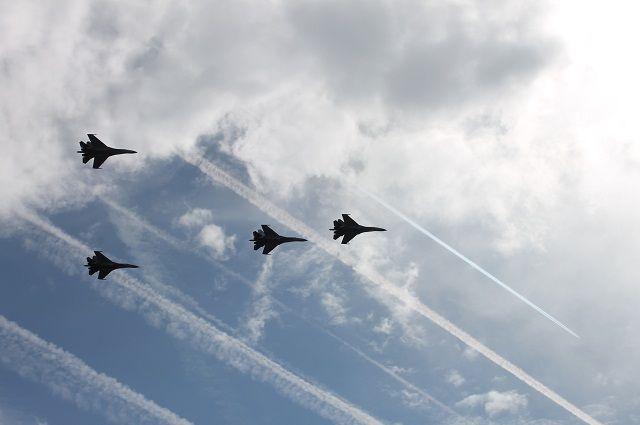 Красноярцы смогут посмотреть тренировочный полет.