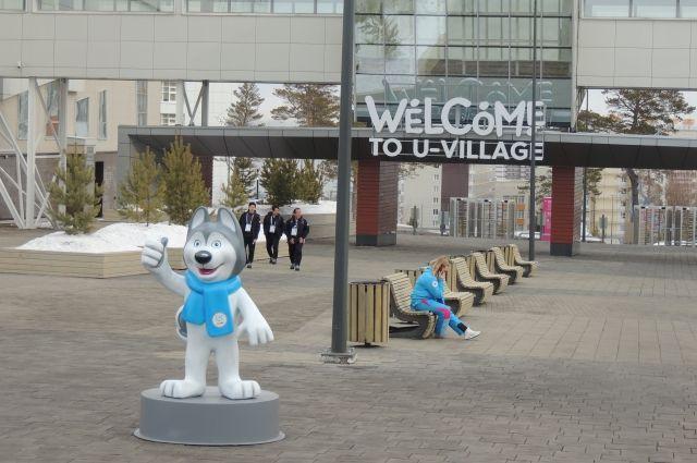 В дни проведения Зимних игр на территории СФУ располагалась Деревня Универсиады.