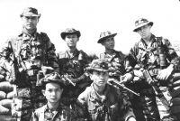 Солдаты армии Республики Вьетнам и спецназа США, сентябрь 1968 г.