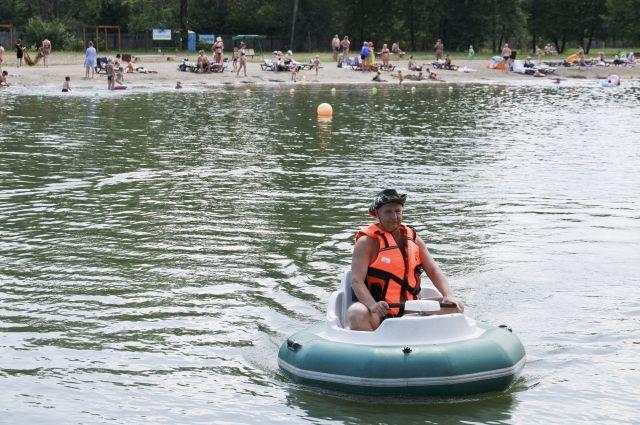 Фестиваль водных видов спорта на городском пляже пройдёт 3 августа.