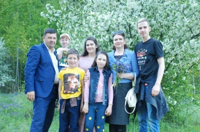 Семья из Тюмени стала одним из победителей Всероссийского конкурса