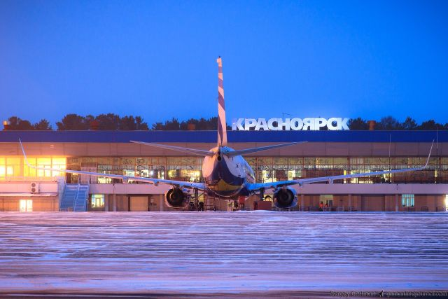 Красноярск на 9-м месте в ТОП-10 лучших аэропортов страны.