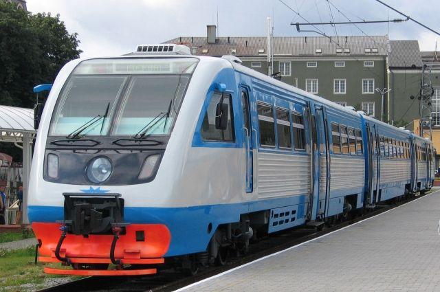 С 5 августа на время ремонта ул. Киевской начнут курсировать рельсобусы