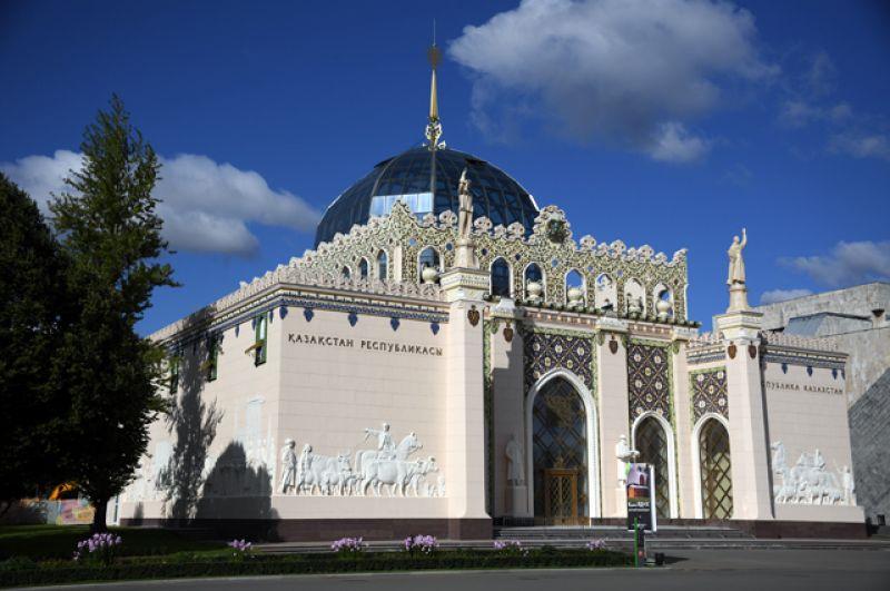 Павильон №11 «Металлургия» (до 1964 года «Казахская ССР»).