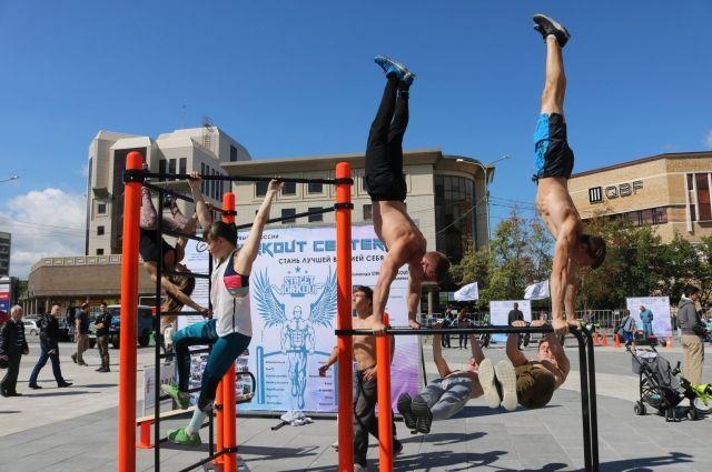 На площади 400-летия Тюмени в День физкультурника разыграют гироскутер